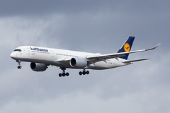 Lufthansa A350-900 (Martyn Cartledge / www.aspphotography.net) Tags: a350900 a350xwb aerodrome aeroplane air airbus aircraft airline airliner airplane airport aspphotography aviation cartledge civilairline civilairliner daixc flight fly flying flywinglets jet lufthansa martyn plane runway transport wwwaspphotographynet wwwflywingletscom uk asp photography