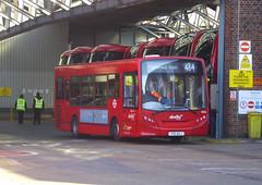 AB 8336 - YX11AHJ - WL WALWORTH BUS GARAGE - THUR 14TH FEB 2019 (Bexleybus) Tags: abellio london wl walworth bus garage adl dennis enviro 200 yx11ahj 8336 tfl route 484
