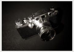 My Leica IIIc (Pics from the Bird Cage) Tags: leica leicaiiic argentique film ishootfilm camera 35mm analog cameraporn classiccamera barnack leitz ernstleitzwetzlar rangefinder summitar summitar5cmf20 filmcamera germancamera iiic leica3c
