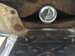 IMG_1544 (john.and.kath) Tags: jrd 1965 chev chevrolet impala 4door hardtop lhd accident pennanthillsrd rear end