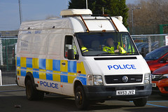 NX53 JVZ (S11 AUN) Tags: cleveland police vw crafter lt46 operational support vehicle osg pov public order psu carrier 999 emergency nx53jvz