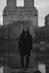 NYC, 2018 (TheJennire) Tags: 2018 photography fotografia foto photo canon camera camara colours colores cores light luz young tumblr indie teen adolescentcontent blackandwhite people portrait centralpark usa eua unitedstates nyc newyork winter fashion lake ootd outfit naturallight