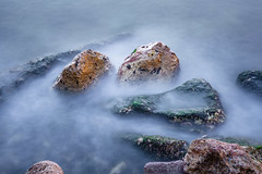 The Council Of Rocks (panos_adgr) Tags: nikon d7200 long exposure photography rocks sea waves formations textures water shore lipaspata attica greece