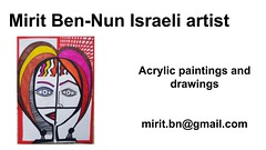 Mirit Ben-Nun art artist woman model leading diferent influence vision image and ideas (female art work) Tags: material no borders rules by artist strong from language influence center art participates exhibition leading powerful model diferent special new world talented virtual gallery muse country outside solo group leader subject vision image drawing museum painting paintings drawings colors sale woman women female feminine draw paint creative decorative figurative studio facebook pinterest flicker galleries power body couple exhibit classic original famous style israel israeli mirit ben nun