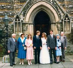 285_PaulLinda1987 (wrightfamilyarchive) Tags: paul linda wright wedding beckenham 21 march 1987 1980s 80s eighties