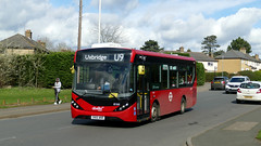 Diverting For High Speed (londonbusexplorer) Tags: abellio london adl enviro 200 mmc 8164 sn66wnr u9 uxbridge harefield hospital tfl buses