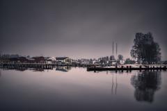 Pråmkajen 20190307 (johan.bergenstrahle) Tags: 2019 aurorahdr captureone finepicsse hdr kväll evening march mars reflection spegling sverige sweden vinter winter
