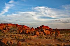 Devils Marbles!! (Uhlenhorst) Tags: 2009 australia australien landscapes landschaften travel reisen