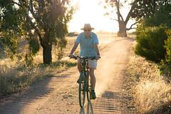 Just hooning about on a bike. (ThyNameIsBlair) Tags: australia outback bendigo farmlife オーストラリア アウトバック ベンディゴ 牧場ライフ
