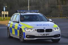 YJ18 BPY (S11 AUN) Tags: west yorkshire police wyp bmw 330d 3series estate touring anpr traffic car rpu roads policing unit 999 emergency vehicle yj18bpy