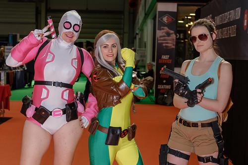Gwenpool / Rogue - X-Men / Lara Croft - Tomb Raider
