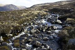 Highland Burn (steve_whitmarsh) Tags: aberdeenshire scotland scottishhighlands highlands mountain hills water stream burn rocks waterfall cairngorms topic abigfave