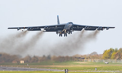 AERO 11 (JTW Aviation Images) Tags: raf fairford gloucestershire us united states air force europe b52h bomber stratofortress deployment usafe barksdale cotswolds kingdom