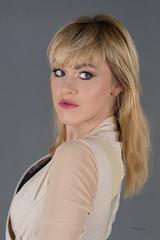 Looking back (piotr_szymanek) Tags: ania aniaz woman young skinny face eyesoncamera studio portrait blonde 1k 20f 5k 50f 10k 20k
