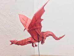 Dragon (Lê Huỳnh Đức) Tags: origami dragon papercraft art papersculpture fantasy