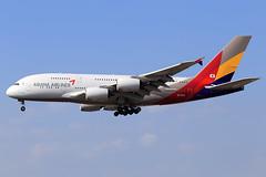 Asiana Airlines  Airbus A380-841 HL7640 (widebodies) Tags: frankfurt main fra eddf widebody widebodies plane aircraft flughafen airport flugzeug flugzeugbilder asiana airlines airbus a380841 hl7640