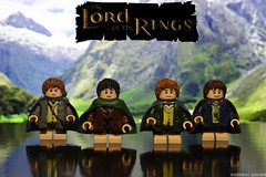 The Hobbits (General Magma) Tags: lego lord rings hobbit hobbits thelordoftherings lordoftherings legolotr lotr legolordoftherings frodo sam merry pippin samwise lotrhobbits lotrlego custom general magma legocustomlotr legothehobbits