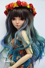 DSC_2114 (sonya_wig) Tags: fairytreewigs wig bjdwig minifeewig bjd bjdminifee minifeechloe handmadedoll bjddoll dollphoto fairyland fairylandminifee minifee chloe bjdphotographycoloringhair