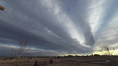 Late Day_TL (northern_nights) Tags: timelapse sunset firesky cheyenne wyoming yi4kactioncam altocumulus widefield