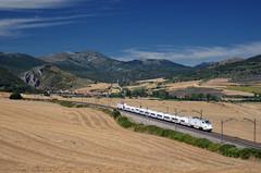 Alvia 661 @ Bujedo (Wesley van Drongelen) Tags: renfe red nacional ferrocarriles espana españa operadora ave alvia serie class type 130 s130 minipato patito bugedo bujedo ameyugo trein train zug tren comboio