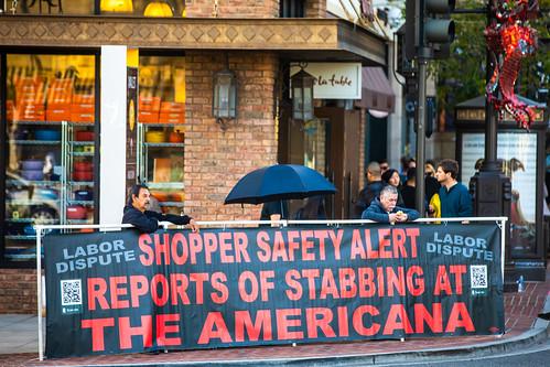 Reports of Stabbing at The Americana