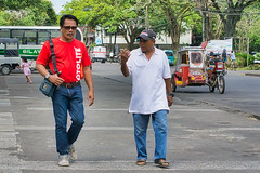 Discussion (Beegee49) Tags: street man men talk discussing talking walking planet happy sony a6000 silay city philippines asia