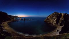 Playa del Silencio (Antonio Marcos Perez Gonzalez) Tags: playadelsilencio asturias nikond750 benro tamron1530 night anocheciendo noche beach fotografiapanorámica