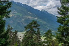 Lillooet Valley Below (MIKOFOX ⌘ The Purge IS Wrong!) Tags: canada river trees lake showyourexif snow xt2 mountains logging forest learnfromexif july landscape provia fujifilmxt2 valley mikofox britishcolumbia summer xf18135mmf3556rlmoiswr