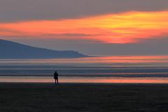 Sundown (paulw7od) Tags: canon eos sand seafront beech westonsupermare breandown sunset soe
