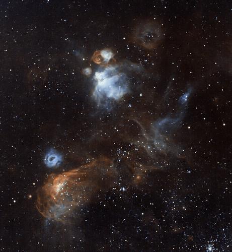 NGC2020 - Narrowband