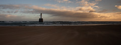 Panorama at Rattray Head (PeskyMesky) Tags: aberdeenshire rattrayhead lighthouse landscape scotland panorama sunrise sunset wind canon canon5d eos