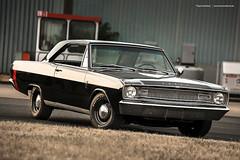 black 1967 Dodge Dart GT (Dejan Marinkovic Photography) Tags: 1967 dodge dart gt mopar american muscle car classic black steelies dogdish