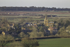 Eaton (NathanBateson) Tags: england english villages countryside farming leicestershire rural british heart eaton vale belvoir church spire zoom fields