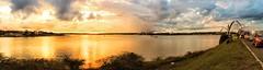 Brasília - Sunset (sileneandrade10) Tags: sileneandrade brasília photoedition photoart photoediting playphoto hdr landscape paisagem céu água reflexo espelho