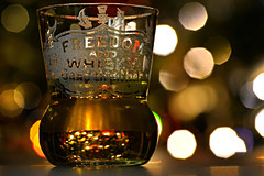 Freedom. And Festive cheer! (PentlandPirate of the North) Tags: macromondays hmm festive whisky freedom bokeh macro glass shot holidaybokeh