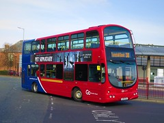 Go North East 6907 (LX06EBJ) - 30-03-19 (peter_b2008) Tags: goaheadgroup gonortheast goaheadlondon londoncentral volvo b7tl wright eclipsegemini wvl258 6907 lx06ebj buses coaches transport buspictures