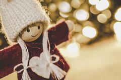Happy Christmas!! for MM Holiday Bokeh (Sonia gsgs) Tags: macromondays holidaybokeh christmas doll puppet closeup sonya6000