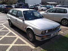 1994 BMW 316i Lux Touring (quicksilver coaches) Tags: bmw 316i 3series touring l386lmo