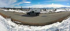 Springtime in Alaska! (JLS Photography - Alaska) Tags: alaska alaskalandscape america jlsphotographyalaska mountains snow scenery spring truck camper truckcamper landscape lastfrontier landscapes mountainpeaks eurekasummit