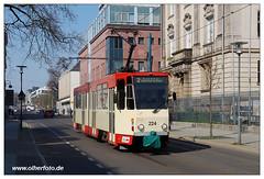 Tram Frankfurt (O) - 2019-04 (olherfoto) Tags: bahn tram tramcar tramway strasenbahn villamos tatra kt4d frankfurtoder