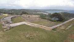 The Blockhouse, Shirley Heights,  Antigua, Antigua and Barbuda (woodytyke) Tags: cruise holiday cruising ship west indies caribbean 2018 boat island vacation tui marella explorer sea sand blue sky hot weather beach building photo best photography woodytyke stephen woodcock scene scenic history ocean colour