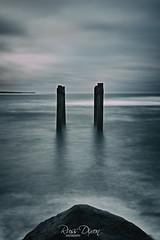 Remnants (Russ Dixon Photography) Tags: russdixon russdixonphotography newzealand taranaki seascape landscape longexposure ocean fujixt3