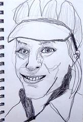 Amy Erickson (chartan) Tags: pencil paper sketch portrait jkpp