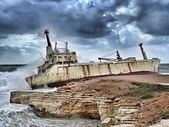 Edro III, Freetown (peterpe1) Tags: paphos cyprus zypern schiff ship edro wreck wrack