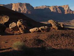 It's Sedimentary My Dear Watson (zoniedude1) Tags: arizona rocks cliffs sky landscape weirdness boulders rockscape itssedimentarymydearwatson shadows sunlight vermillioncliffsnationalmounumant geologicwonders outdoors vermillioncliffs wildwest highdesert redrocks 4120ftelevation coloradoplateau az usa beauty wild southwest nature northernaz adventure exploration scenicview northrim2018 canonpowershotg12 zoniedude1 pspx19 earthnaturelife