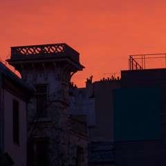 190118a3 (bbonthebrink) Tags: paris january 2019 sunrise orange pink turret