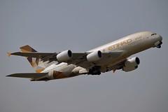 Etihad Airways A6-APG Airbus A380-861 cn/198 @ EGLL / LHR 26-05-2018 (Nabil Molinari Photography) Tags: etihad airways a6apg airbus a380861 cn198 egll lhr 26052018