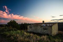 sunset (Angelo Petrozza) Tags: 15mm limited polarizer pentaxk70 angelopetrozza landscape sunset tramonto montescaglioso basilicata cielo sky abandoned abbandonato casa house nuvole clouds