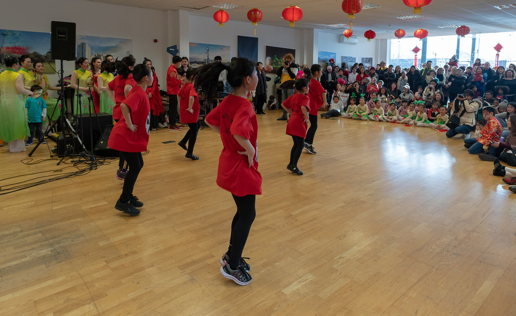 YEAR OF THE PIG - LUNAR NEW YEAR CELEBRATION AT THE CHQ IN DUBLIN [OFTEN REFERRED TO AS CHINESE NEW YEAR]-148939