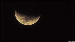 The Moon (Sanketh Kamath) Tags: crescent cheese moonlight nightsky night moon